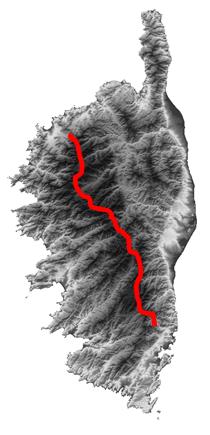 Trail-Tracé GR20
