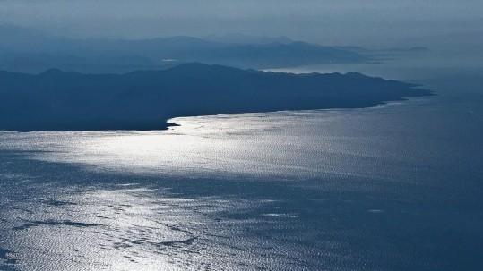 reflets sur le golfe de St Florent