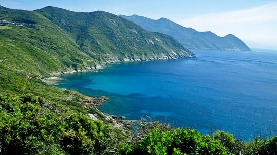 le Cap Corse, la côte ouest
