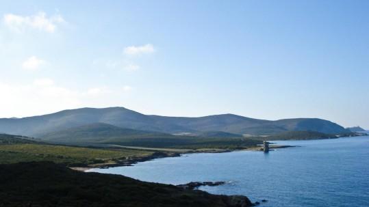 le sentier des douaniers du cap Corse