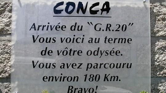 [GR20 Sud] Conca