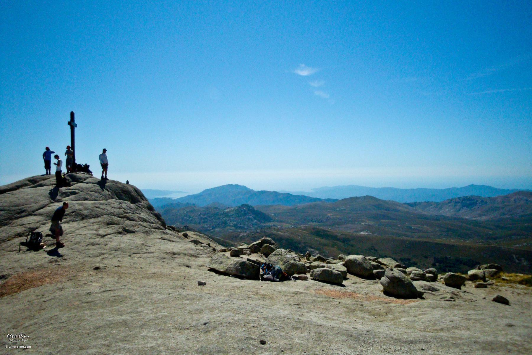 Au sommet du Monte Alcudina