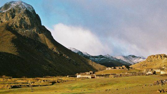 les bergeries d Irhiri dans Jebel Sirwa