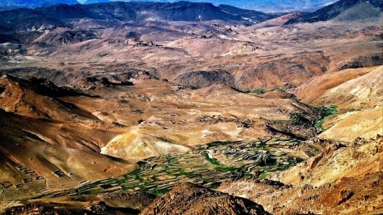 Jebel Sirwa. Paysage de l anti-Atlas