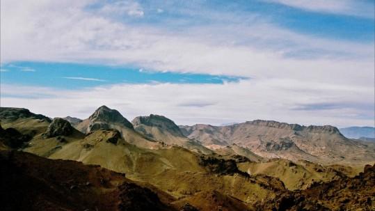 Jebel Sirwa. Après les bergeries d Irhiri