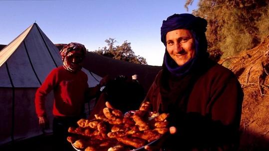 Abdou prépare le repas