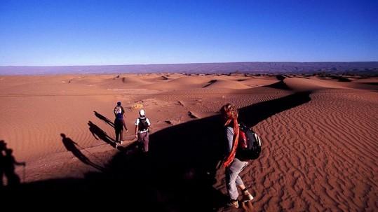 jeux d'ombres sur les dunes