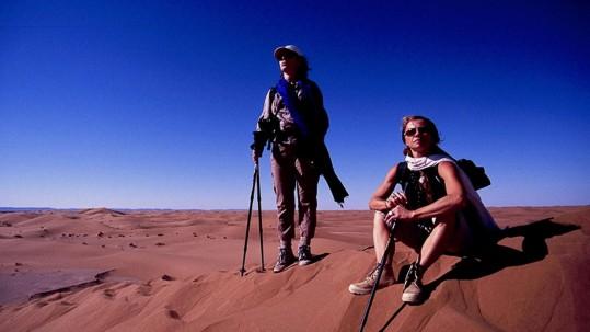 contemplation sur les dunes de Chigaga