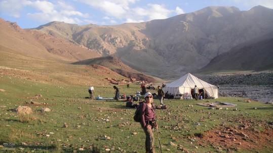 campement au Toubkal