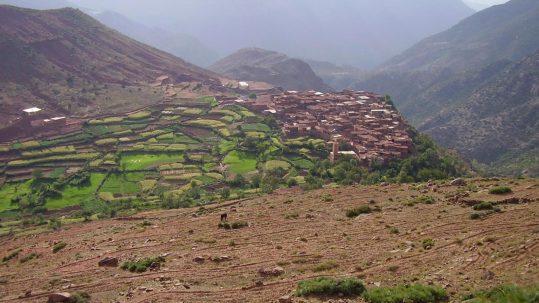 Toubkal - la vallée de l Ourika