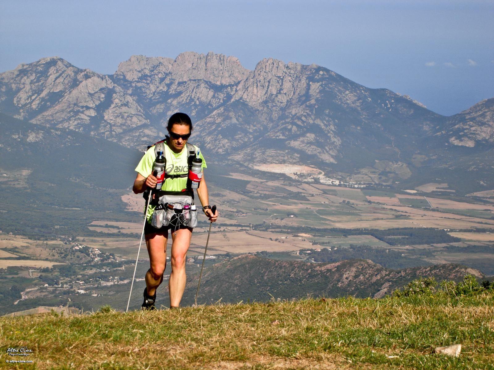 Trail GR20 sportif