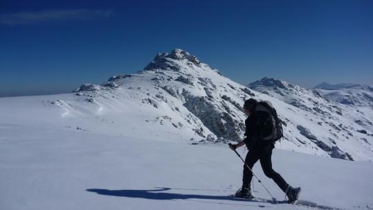Neige sur le Monte Astu