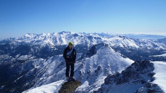 La montagne Corse sous la neige