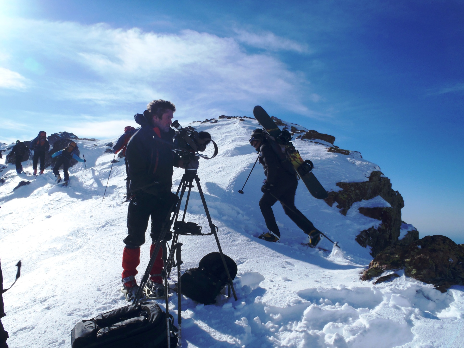 Altre Cime en montagne avec ARTE