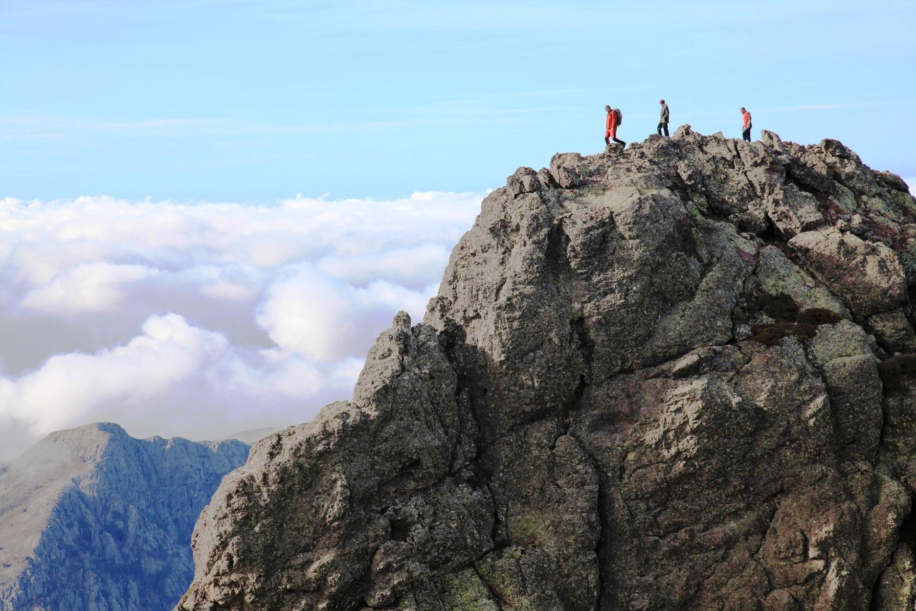 Rando Alpine en Corse -Au sommet de la Punta Silvastriccia