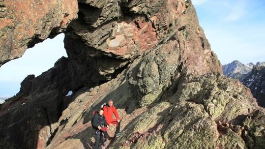 Rando Alpine en Corse - Le trou du Capu Tafunatu