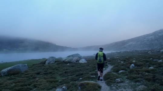 Au rythme trail dans le mauvais temps