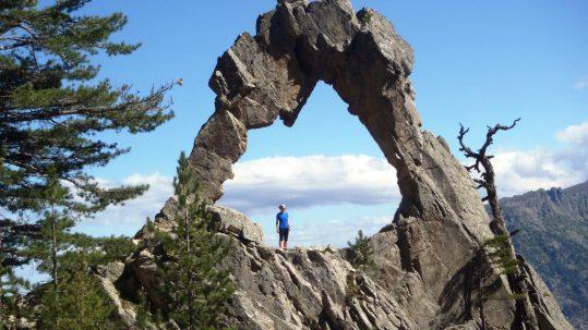 Entrainement trail a l arche de Padule