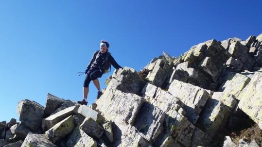 Passage acrobatique au rythme trail