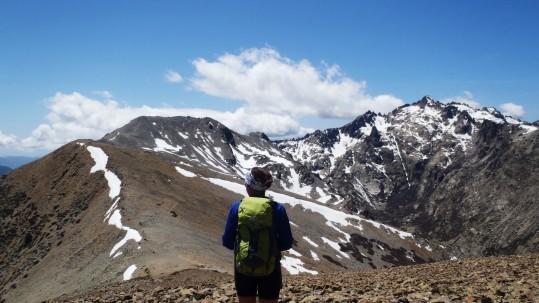 Entrainement Trail sur les cretes en Corse