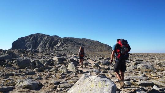 A l approche du Monte Renosu