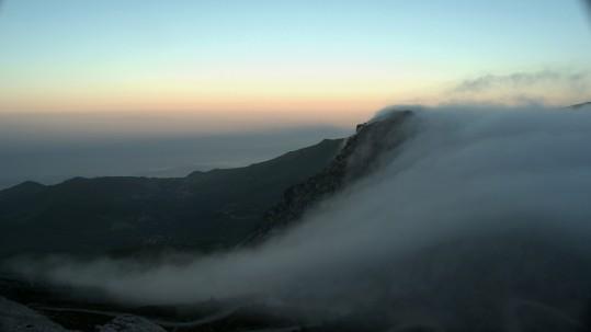 Randonnee Cap Corse - mer de nuages