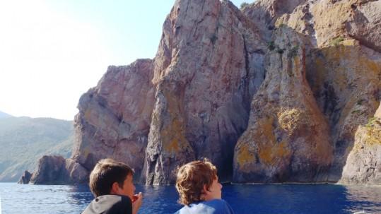 Randonnee famille Corse - reserve de Scandula