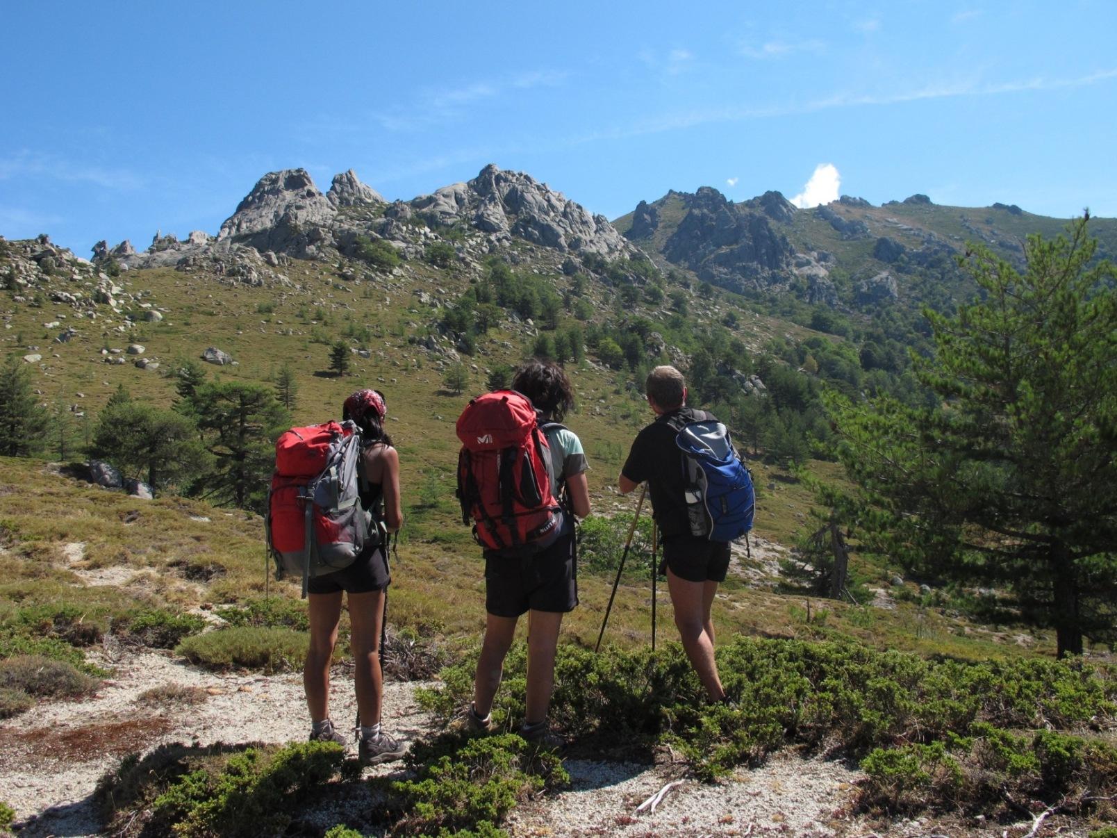 Rando hors chemin en Corse du sud