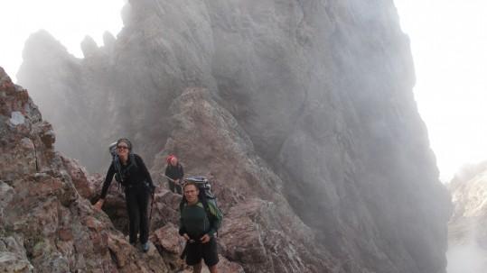 Brouillard dans Serra Pianella