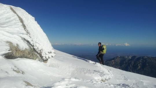 Raquettes à neige en Corse