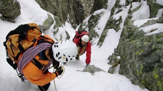 Initiation et perfectionnement en alpinisme