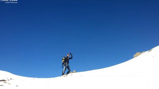 Montagnes Corses en hiver