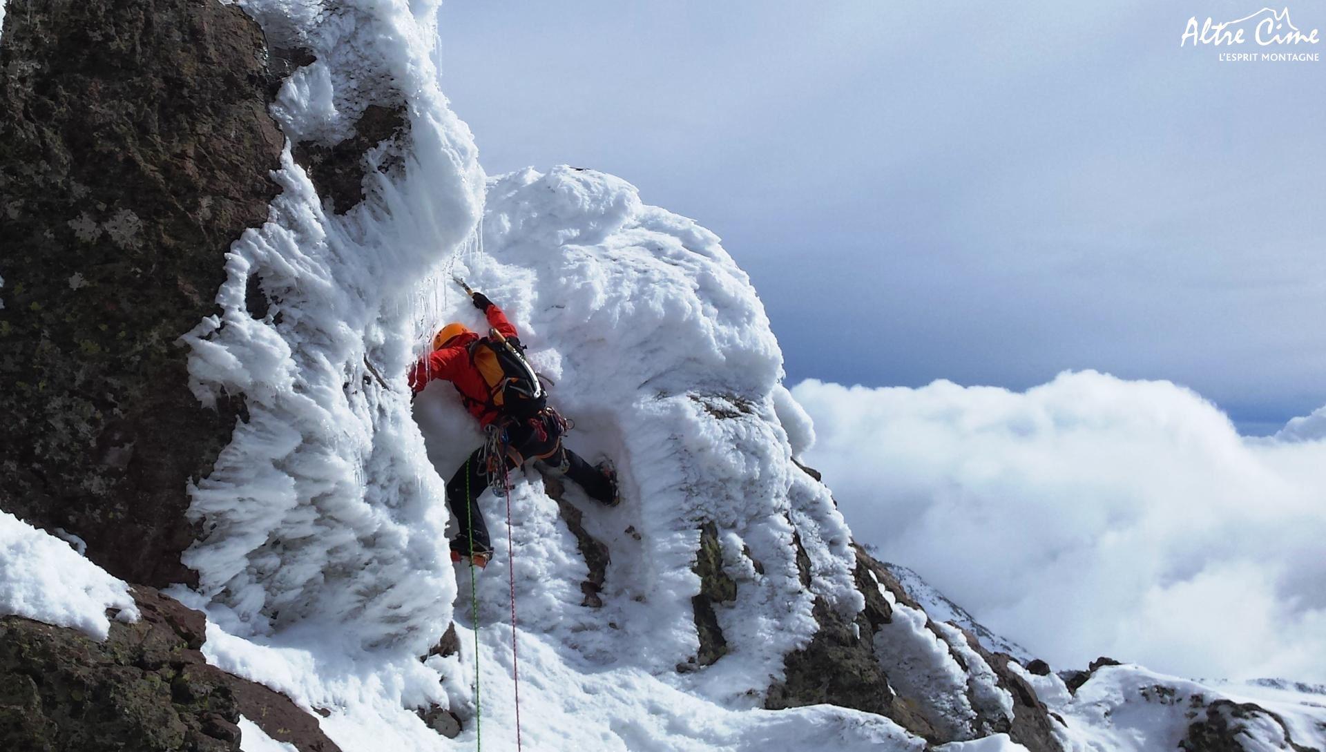 [Alpinisme en Corse] Capu Tafunatu meringué