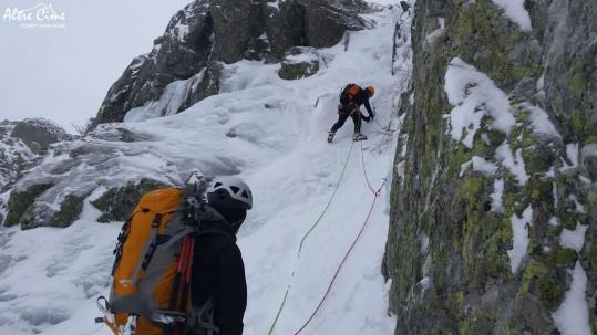 [Alpinisme en Corse] Cascade de glace Onda GR20