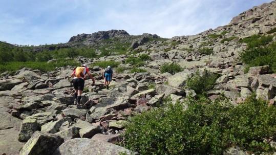Trail du GR20 en 5 jours