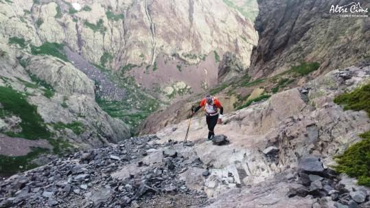[GR20 Trail] Montée à la Pointe des Eboulis