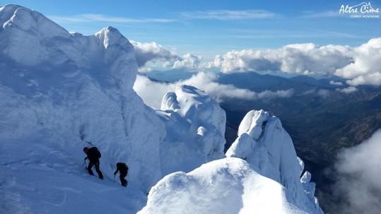 [Ski de randonnée Corse] Punta di l'Uriente