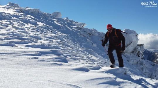 [Alpinisme en Corse] Sur les crêtes de Punta Scarpiccia
