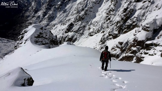 GR20 en hiver