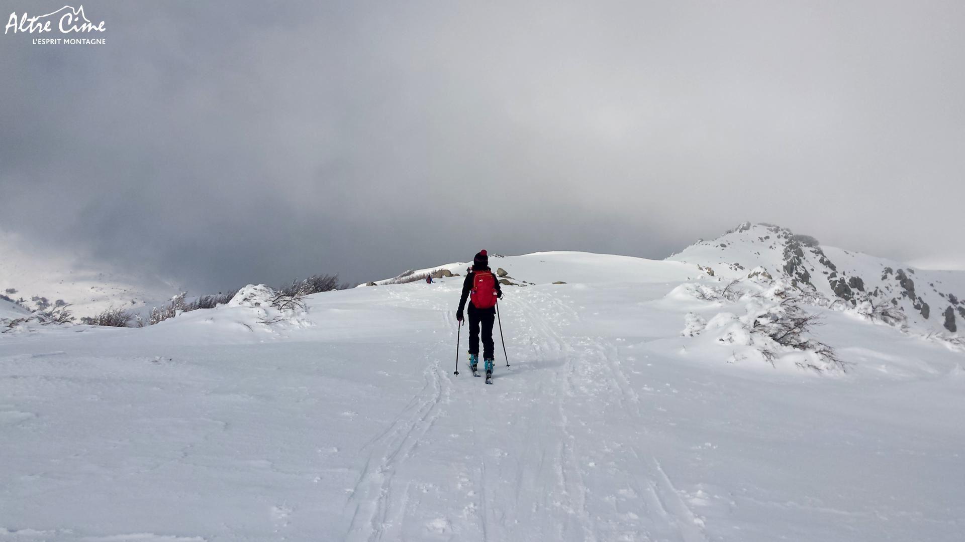 GR20 Sud sous la neige