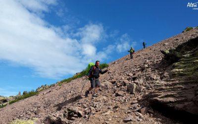 Descente du Monte Curonna - Variante étape Ortu Carozzu