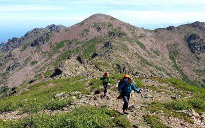 Ascension du Ladroncellu entre Ortu et Carozzu