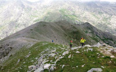 Variante alpine des Pinzi Curbini entre Petra Piana et l'Onda