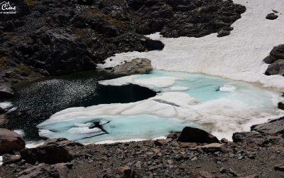 Lac d'Argent en face Nord du Cintu