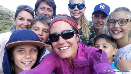 Rando famille sur le GR20 Sud