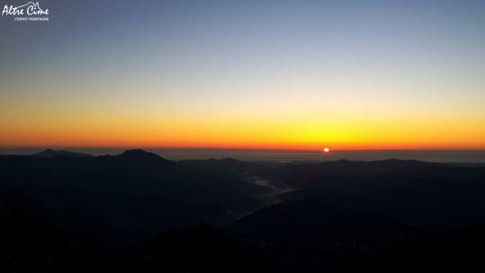 Lever de soleil sur la Plaine Orientale
