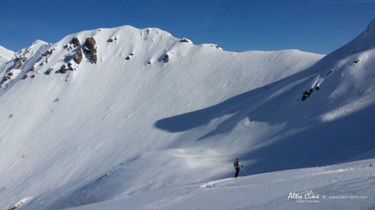 GR20 Sud en hiver - Punta Ventosa