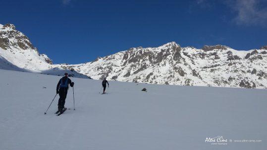 GR20 Nord - Vue sur la Chaine du Monte Cintu