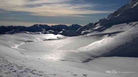 GR20 Sud en hiver - Lac de Bastani