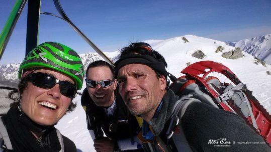 GR20 Sud en hiver - Une belle rencontre au sommet !